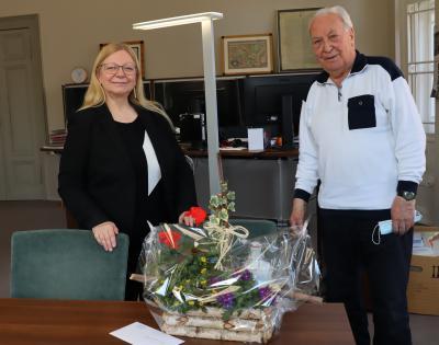 Hubert Streibing verabschiedet sich nach mehr als 63 Jahren Arzttätigkeit in den Ruhestand