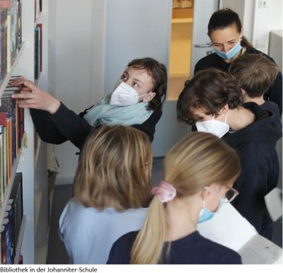 Schuleigene Bibliothek lädt wieder zum Lesen und Lernen ein