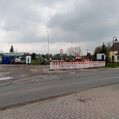 Foto zur Meldung: Parkplatz wird endlich gebaut