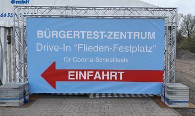 Bürgertestzentrum in Flieden - Terminvereinbarung nicht mehr notwendig!
