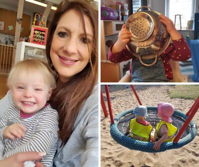 Tagesmutter Carmen Hansen - Aktionswoche Kindertagespflege 2021