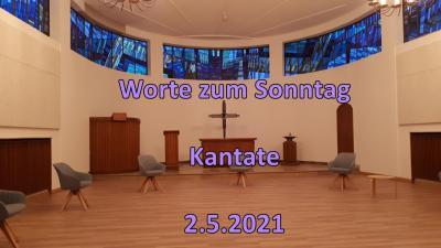 Foto zur Meldung: Worte zum Sonntag Kantate am 2.5.2021