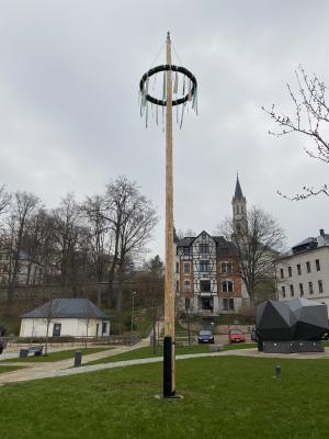 Maibaum Eibenstock 2021