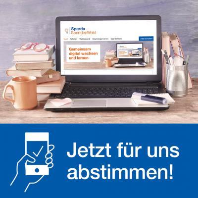 Bild der Meldung: Sparda Spendenwahl -  jetzt für uns abstimmen!