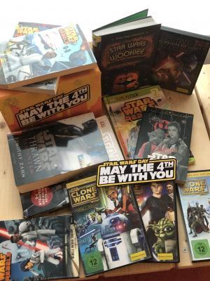 eine kleine Star-Wars Auswahl - bei uns auszuleihen