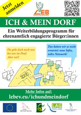 Einladung zum neuen Schulungsprogramm für Ehrenamtliche und Interessierte im Havelland