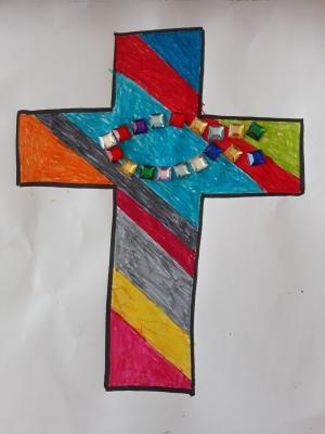 Kreuz der Klasse 3/4