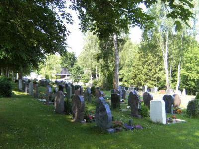 Foto zur Meldung: Zufahrt zum Friedhof eingeschränkt möglich