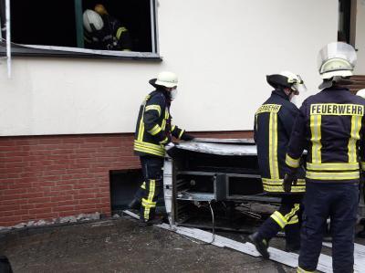 Brandeinsatz in einem Einfamilienhaus