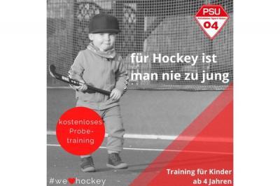 Für Hockey ist man nie zu jung