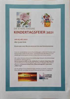 Foto zur Meldung: Die etwas andere Kindertagsfeier 2021