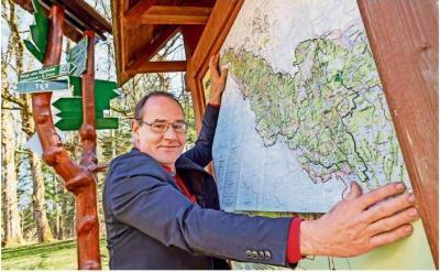"Tilo Kummer, Vorsitzender des ""Naturpark Thüringer Wald e.V."""