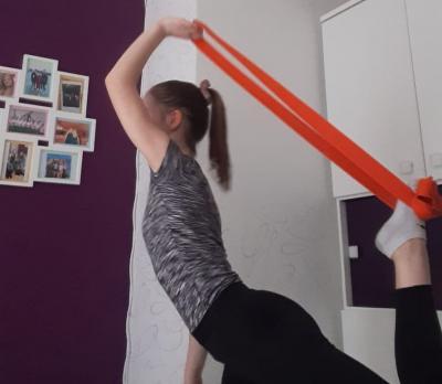 Fit mit dem Judogürtel