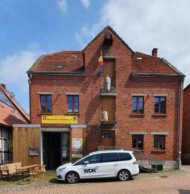 Foto zur Meldung: -  WDR - Lokalzeit OWL das Sackmuseum‼️ in Nieheim