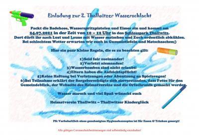 2.Thallwitzer Wasserschlacht
