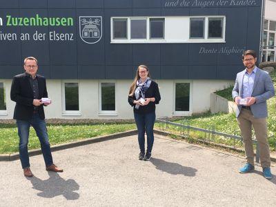 Vorschaubild der Meldung: Spende für Corona-Testungen im Kindergarten durch die Bauunternehmung Hermann Reinhard GmbH & Co.KG