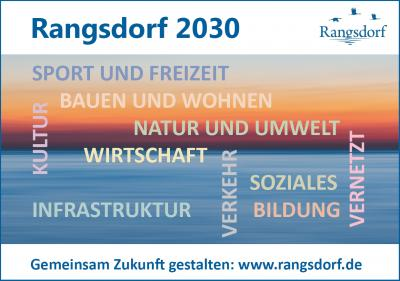 Online-Umfrage zur Rangsdorfer Zukunft