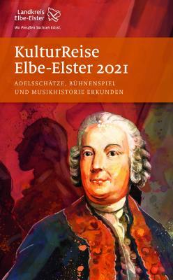"""Titelblatt """"Kulturreise 2021"""" mit Johann Gottlieb Graun"""