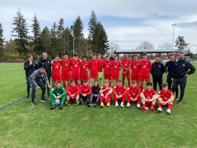 Bild der Meldung: U17 des 1. FC Kaiserslautern zu Gast
