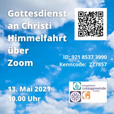 Foto zur Meldung: Herzliche Einladung zum Zoom-Gottesdienst am 13.5.2021