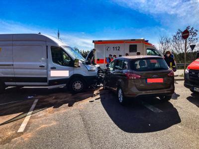 Unfall an der A2-Auffahrt Lehnin