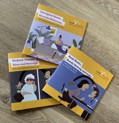 Vorschaubild der Meldung: Verbraucherschutz - druckfrische Broschüren vom dlv