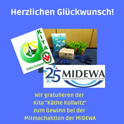 Herzlichen Glückwunsch, Kita Käthe Kollwitz!