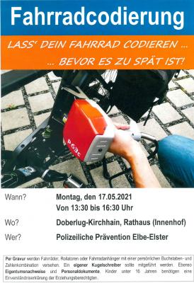 Fahrradcodierung