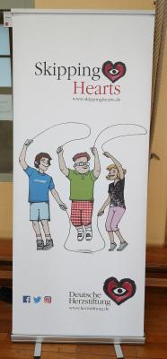 Foto zur Meldung: Skipping Hearts - Seilspringen für ein gesundes Herz