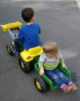Nicht immer herrscht Frieden zwischen Geschwistern. - Foto: privat