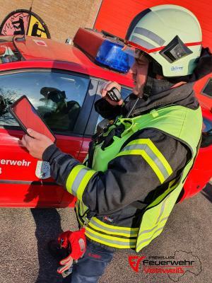 Digitalisierung der Freiwilligen Feuerwehr Vettweiß