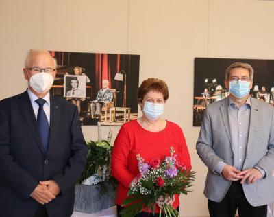 von links: Bodo Rückschlag, Petra Lübke und Dr. Oliver Hermann I Foto: Franziska Lenz