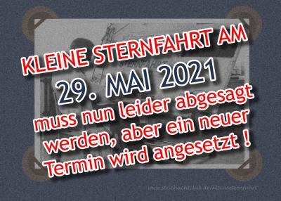 Die KLEINE STERNFAHRT in Fürstenau am 29. Mai 2021 ist leider abgesagt worden !