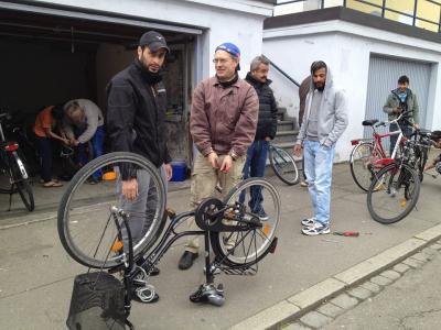 Achtung! Erwerb von Fahrrädern bei der Fahrradwerkstatt Asyl