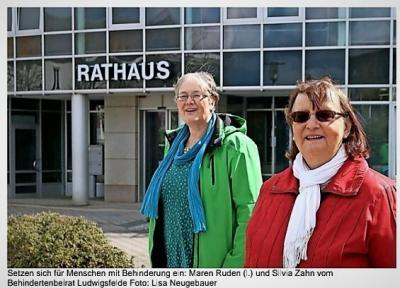 Behindertenbeirat Ludwigsfelde feiert 3-jähriges Bestehen