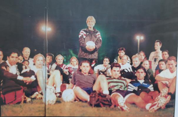 Mirjana Kovacev war 1997 die erste Frau, die einen Männer-Landesligisten trainierte