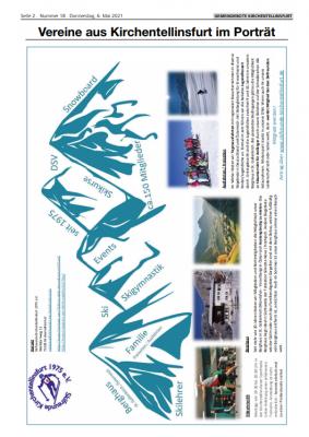 Die Skifreunde stellen sich vor - Gemeindebote vom 06.05.2021
