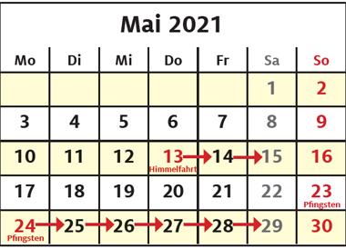 Abfalltermine Pfingsten 2021 (Quelle: https://abfall.kreis-pinneberg.de/)