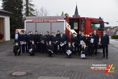 Open-Air Beförderungen bei Feuerwehr