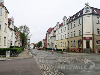 Die Doerfelstraße wird im ersten Abschnitt ab kommenden Dienstag, 25. Mai, komplett gesperrt. Foto: Beate Vogel