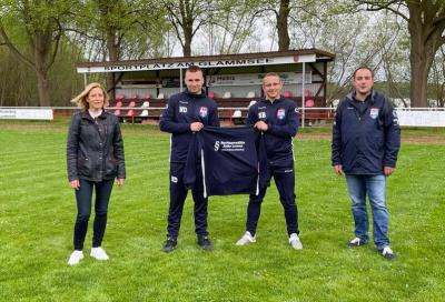 v.l.: Anke Lorenz, Niklas Dunkelmann, Stephan Buchs und Thomas Gebhardt