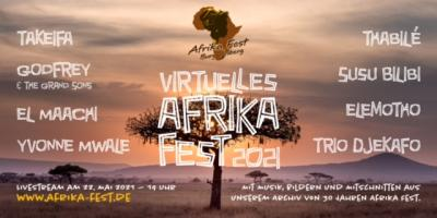 Virtuelles Afrika-Fest als Live-Stream am 22.05.2021