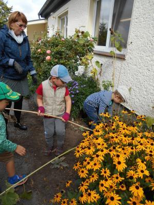 Gartentage bei den Buchstabenzwergen