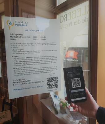 Stadt Perleberg | Mit der App sich schnell und einfach in die Stadtinformation einchecken
