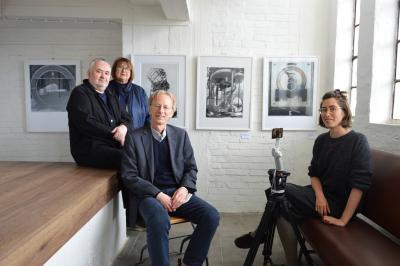 von links: Manfred Hamm, Birka Stövesandt, Diethelm Kaiser und Juliette Cellier I Foto: Martin Ferch
