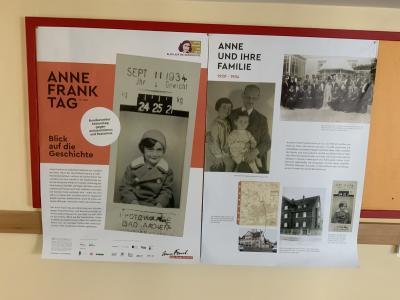 Foto zur Meldung: Anne Frank Tag 2021 am 12. Juni 2021