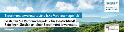 """""""Experimentierwerkstatt Ländliche Verbraucherpolitik"""" im Landkreis Freyung-Grafenau"""