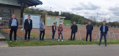 """Foto zur Meldung: Eröffnung """"Interkommunale Wanderschleife Oberes Simmerbachtal"""""""