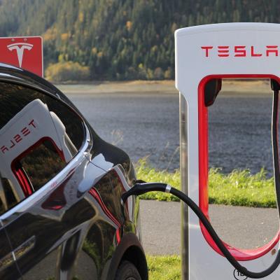 Foto zur Meldung: Elon Musk in Grünheide