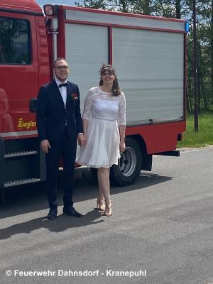 Hochzeit unseres Kameraden Markus